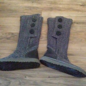 UGG Cardy Wool Blend Boots NWOT